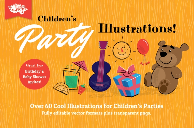 Children's Party Illustrations