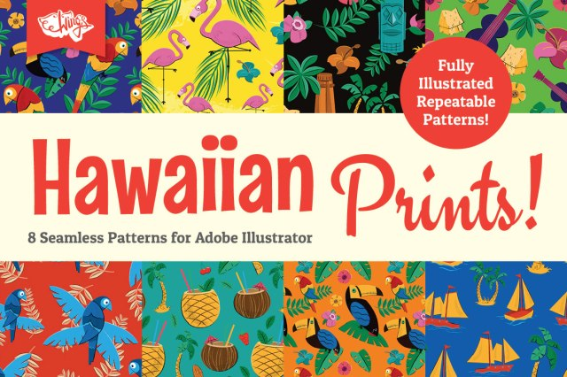 Hawaiian Prints and Repeatable Patterns