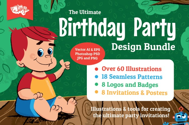 Wing's Ultimate Birthday Party Bundle