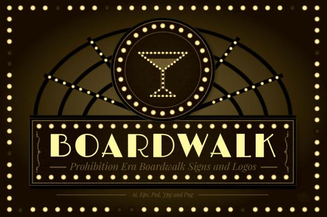 Boardwalk Empire Logos and Signs