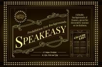 Boardwalk Empire Inspired Backgrounds and Frames - Perfect for creating your own vintage style invites or posters.