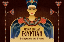 Egyptian graphics and vector design assets